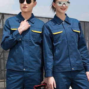 áo bảo hộ xanh